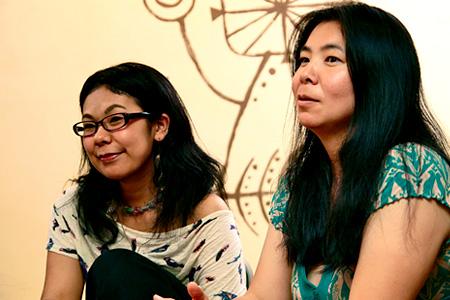 写真左から:マユン、レクポ