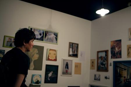『2011年7月の僕のスタジオから/水戸での展示を経由して2012年7月の横浜へ』(部分) 2006-2012