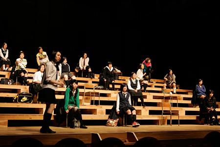 『転校生』飴屋法水(『F/T09春』)©Jun Ishikawa