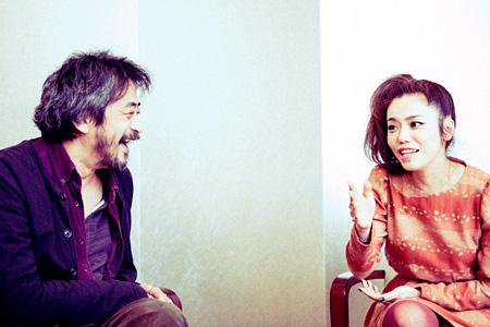 左から:不破大輔(渋さ知らズ)、Chara