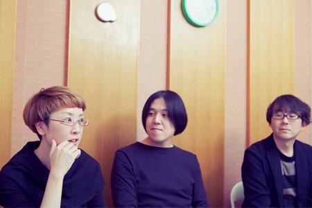 左から:山崎ゆかり、戸川由幸、窪田渡