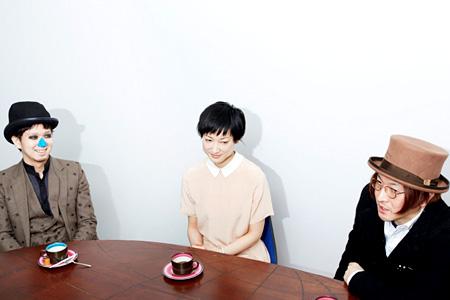 左から:H ZETT M、緒川たまき、湯澤幸一郎