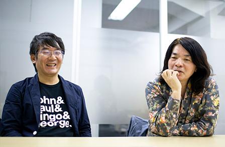 左:鈴木惣一朗、右:直枝政広