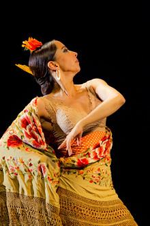 『flamenco festival in Tokyo』に出演予定のベレン・マジャ ©Luis Castilla