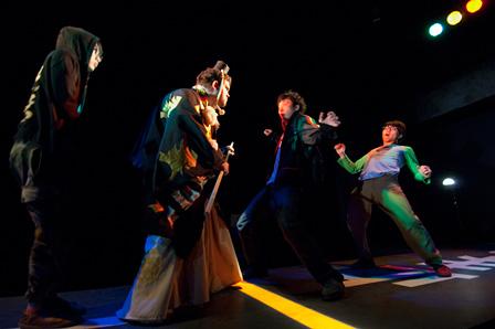 京都×横浜プロジェクト2010『勧進帳』 2010年5月アトリエ劇研 ©東直子