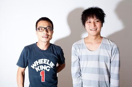 左から:磯部正文(HUSKING BEE)、大橋賢(Choir touched teras chord、『tieemo』主催)