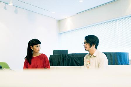 左から:YeYe、後藤正文(ASIAN KUNG-FU GENERATION)