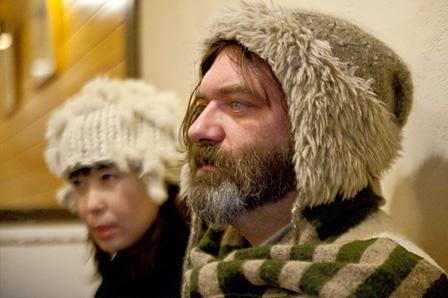 左奥:石橋英子、右:ジム・オルーク
