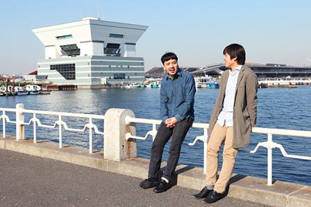 左から:青田真也、八木良太