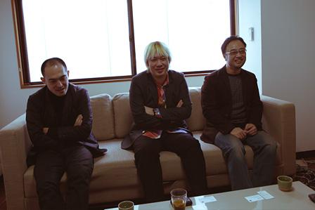 左から:前田豊、津田大介、立薗理彦