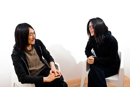 左から:TAKUTO(about tess)、青木裕(downy、unkie)