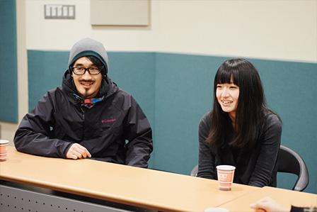 左:junet kobayashi(TAMTAM)、kuro