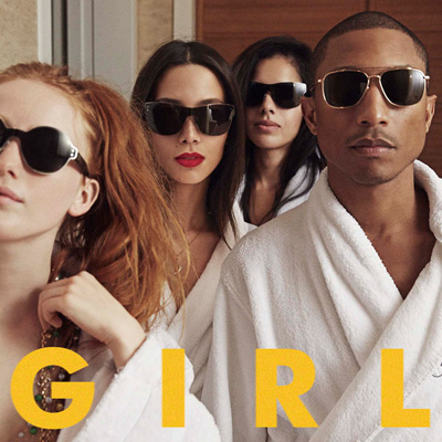 Pharrell Williams『G I R L』ジャケット