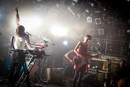 ハルカトミユキ ワンマンツアー『青写真を描く』の2月8日@渋谷CLUB QUATTRO公演より