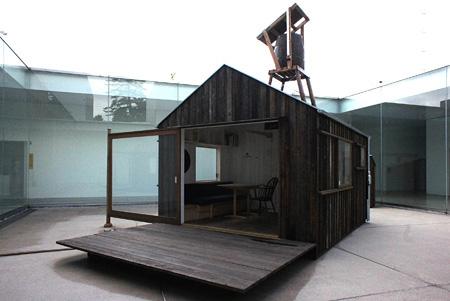 金沢21世紀美術館『中村好文 小屋においでよ!』『Hanem Hut』部分