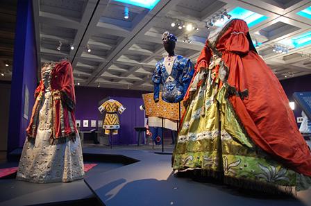 国立新美術館『魅惑のコスチューム:バレエ・リュス展』展示風景