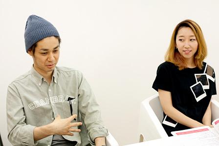 左から:naotohiroyama、Rie fu