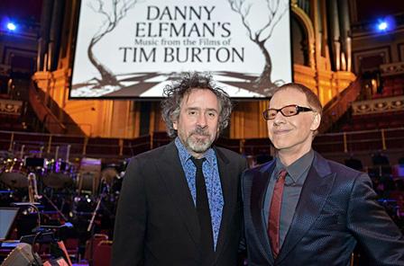 左から:ティム・バートン、ダニー・エルフマン Photo:Paul Sanders