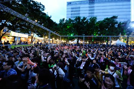 『VIVA LA ROCK 2014』会場風景 撮影:釘野孝宏、HayachiN ©VIVA LA ROCK 2014 All Rights Reserved.