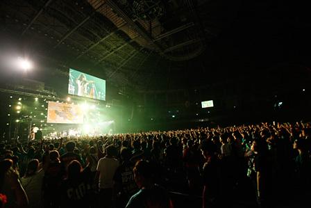 『GUNMA ROCK FESTIVAL 2013』会場風景