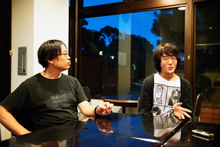 左から:岡田利規、太田信吾