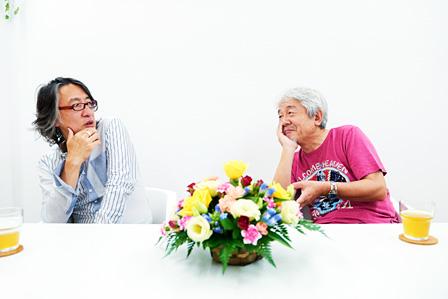 左から:田中宏和、鈴木慶一