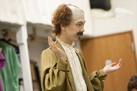 『ロミオとジュリエットのこどもたち』稽古風景