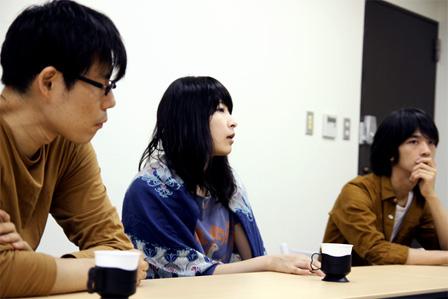 左から:岸田佳也、ユミコ、トクマルシューゴ