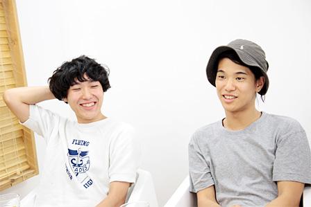 左から:松田光弘、角舘健悟