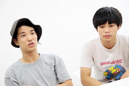 左から:角舘健悟、粕谷哲司