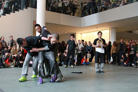 contact Gonzo photo by Choy Kafai Performing Histories: Live Artwork Examining the Past at The Museum of Modern Art, New York