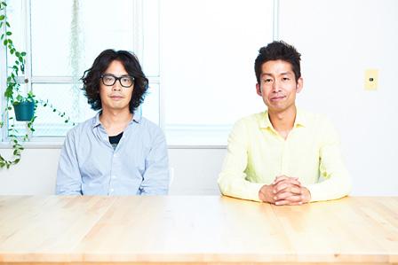 左から:岸田繁(くるり)、加藤貞顕