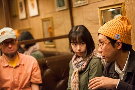 左から:マイク・クベック、三條亜也子、新井知行