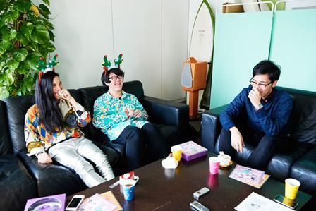 左から:Seiho、Avec Avec、tofubeats