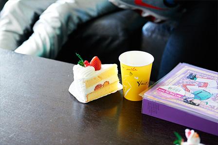 Sugar's Campaignが買ってきたショートケーキ