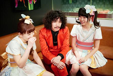 左から:清美咲、清竜人、清可恩