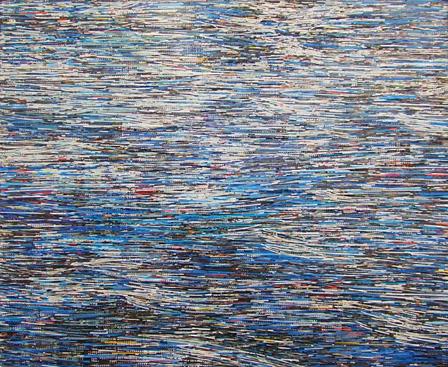 宮里紘規『BLUE』2012年 ミクストメディア