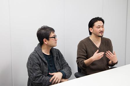 左から:小野朗、城田寛治