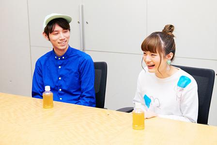 """左から:澤""""Sweets""""ミキヒコ、みこ"""