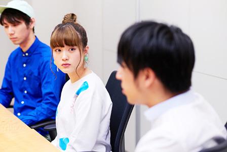 """左から:澤""""Sweets""""ミキヒコ、みこ、ヤマモトショウ"""
