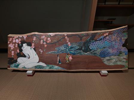 山口藍『ことど』 撮影:市川靖史 ©ai yamaguchi・ninyu works Courtesy SPIRAL / Wacoal Art Center, Mizuma Art Gallery