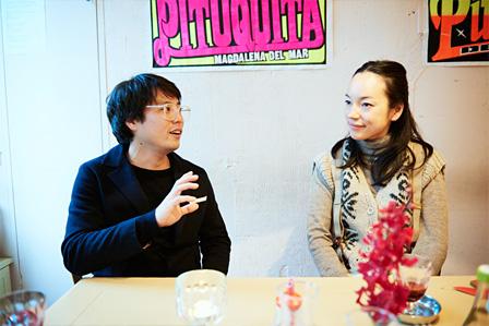 左から:木村顕、KIKI