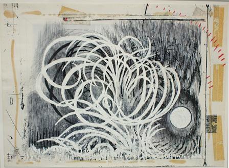 『フーガの技法』(原画)2001年、インク・鉛筆、紙 ©Takashi Ishida