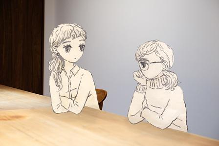 左から:泉まくら、大島智子