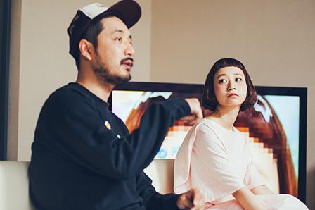 左から:日下慶太、三戸なつめ