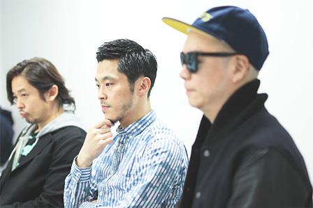 左から:Mummy-D、DJ JIN、宇多丸