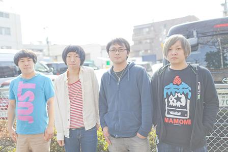 THE BOYS&GIRLS(左から:カネコトモヤ、ワタナベシンゴ、ケントボーイズ、ソトムラカイト)