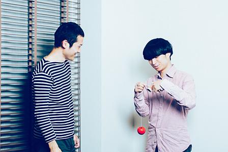 左から:鈴木康広、尾崎世界観