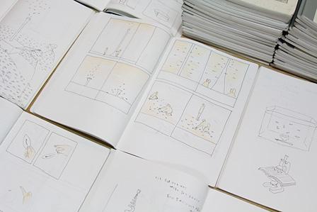 鈴木康広のスケッチブック 撮影:青木遥香