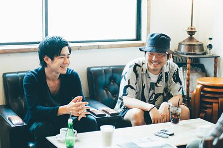 左から:稲葉雄介、Paranel